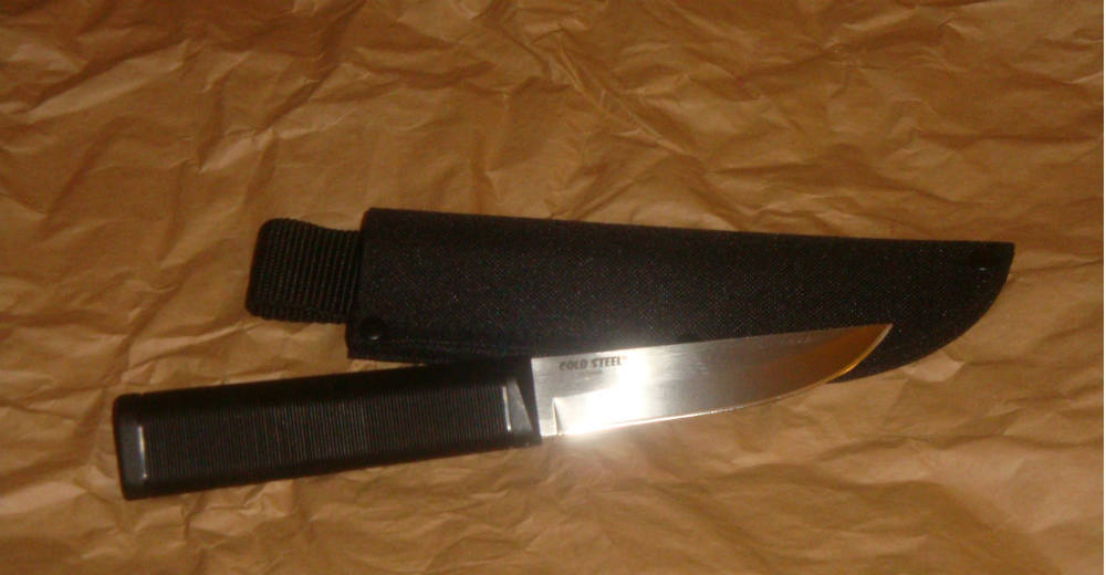 cold steel fin bear fixed blade