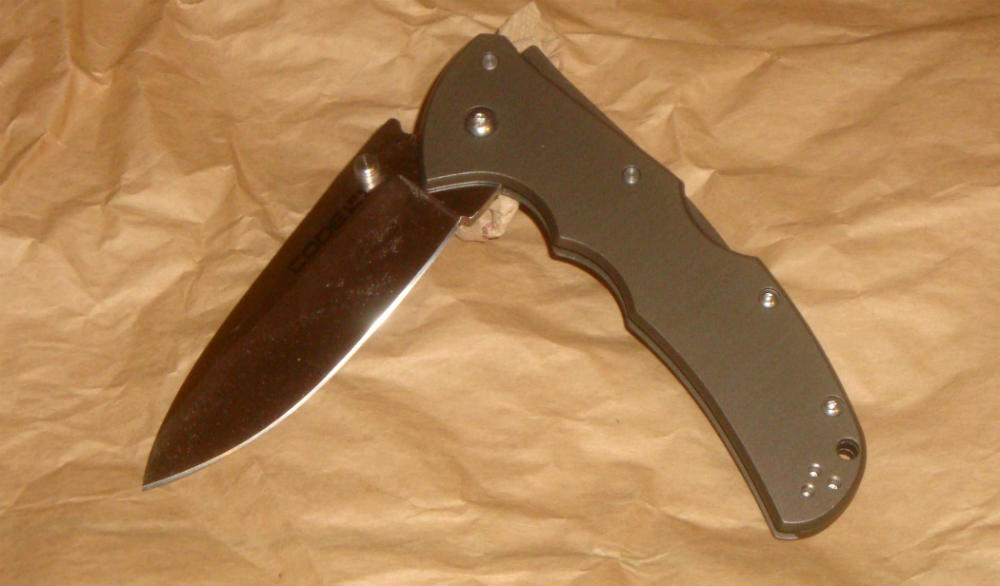 cold steel code 4 folding knife