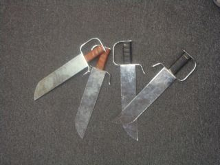 Butterfly Swords/Butterfly Knives used for training