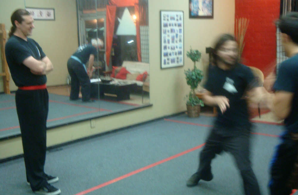 sifu and martial arts class