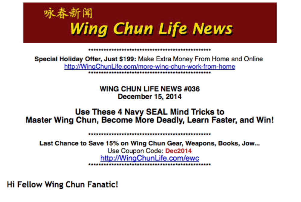 21 7 Awesome Wing Chun Gifts for the Holidays --