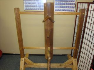Wing Chun Wooden Dummy on a Stand