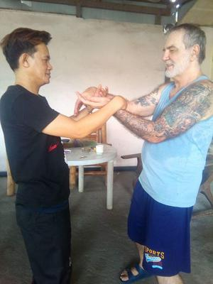 Chi Sao Training